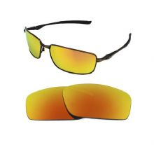 NEW POLARIZED FIR RED REPLACEMENT LENS FOR OAKLEY SPLINTER SUNGLASSES
